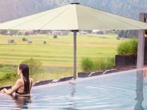 Palazzo Royal Umbrella by pool