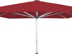 Palazzo Noblesse giant umbrella with red canopy