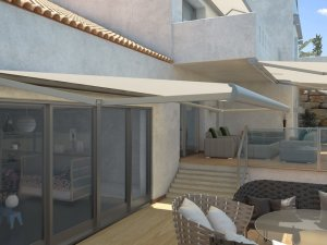 Llaza Storbox awnings