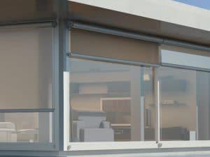 Maxiscreenbox outdoor blind